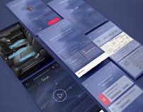 Mobile app concept for TATA Hexa smart manual