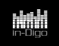DJ InDigo - Logo + Party Poster