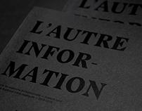MÉMOIRE - L'autre information