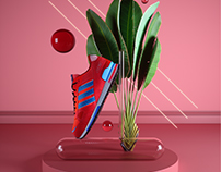 Adidas ZX 750 Render Session