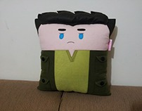 Handmade The Hunger Games Gale Hawthorne Plush Pillow