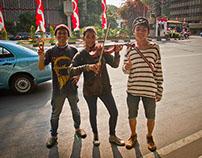 A Walk on Jakarta Day, Indonesia