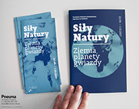 "Visual identity for ""Siły Natury"" festival"