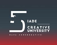 Desdobrável & Mapa Comemorativo   50 Anos IADE