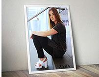 Zara Advertisement | Photo Composite