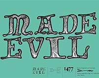 Made Evil Typeface Design