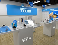 Tecno exclusive shop design