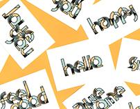 Piet: Geometric Lettering