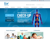 LIV Hospital Website