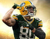 Jimmy Graham Packers jersey swap