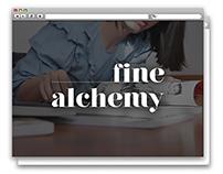 Fine Alchemy // Social Media Strategy