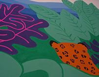 Mural - Hostel La Niña - Bogotá