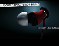 """Sennheiser Momentum In Ear"" Animation"