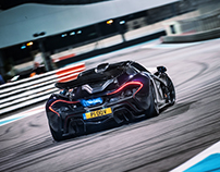McLaren P1, Abu Dhabi