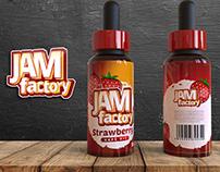 Jam Factory - Label Design
