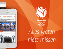 Olympic TeamNL app & website for NOC*NSF