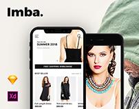 Imba E-Commerce App Ui Kit