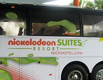 NICKELODEON SUITES RESORT: Bus Wrap