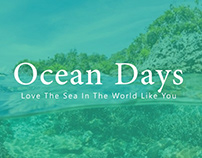 Free Ocean Days PowerPoint Template