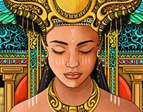 queen of egypt...(concept art)..