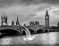 England, London - Big Ben