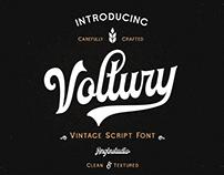 Voltury Script Font (FREE Demo Version)