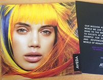 Aveda Hair Colour Brochure