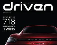 Editorial and Photo-essay DRIVEN MAGAZINE JUNE 2018
