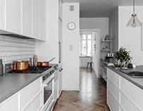 Scandinavian apartment in London