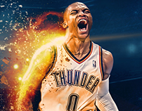 CBS Sports Social Media // Westbrook MVP Graphic