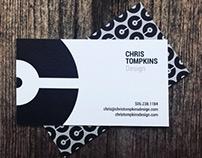 Chris Tompkins Design Business Cards