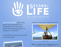 Second Life Parody Ad