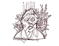 Francis Bacon - Animated GIF