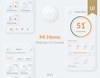 Mi Home | Redesign UI