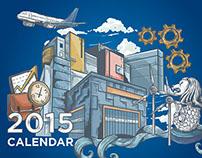 BINUS Univeristy Calendar 2015