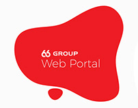 UI - Web Portal - Blob Design for 66 Group