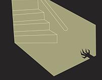 Diseño afiche película animada ficticia