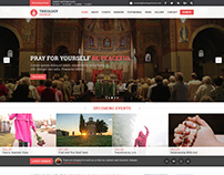 Theology Church Multipage PSD Template