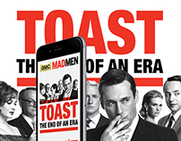 Mad Men // Toast an end of an era