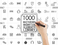 Whiteboard Animated Elements Library