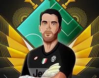 Juventus Hi5tory Posters