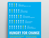 Hunger Awareness Poster - Print Design