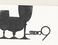 Studio9 restaurant branding