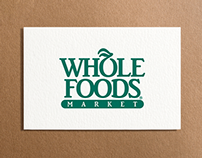 Whole Foods Rating System Re-design