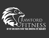 Crawford Fitness / Crawford Strength re-brand project