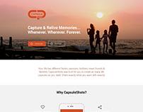 Capsuleshots website