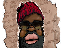 Black Thought of The Roots crew