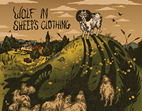 Album cover and Sticker: Wolf in Sheep's Clothing