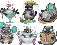 Matilda stickers for iMessage