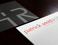 Patrick Smith HR Business Card Design